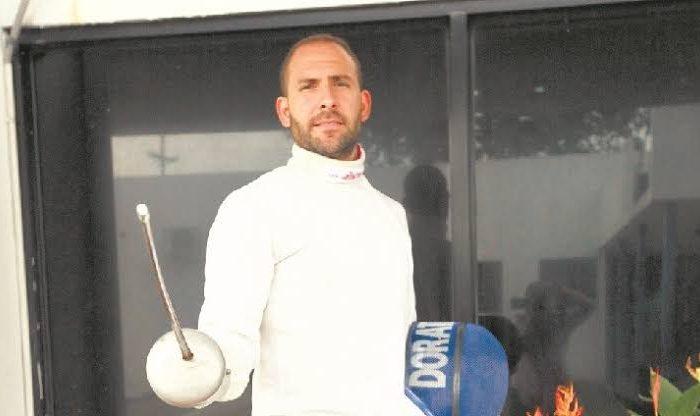 Esgrima: El<br>Esgrimista Arturo Dorati, ya no tiene coronavirus