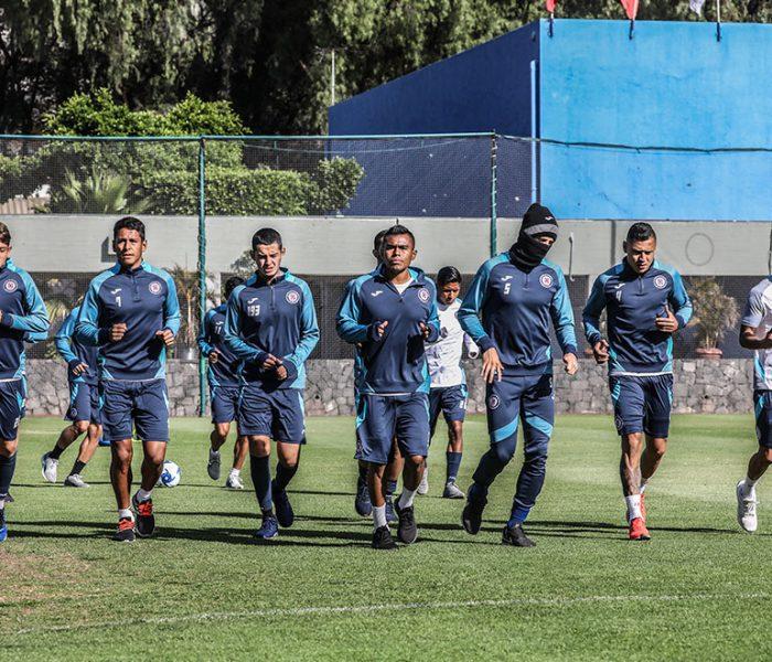 Futbol: Cruz Azul regresará a los entrenamientos