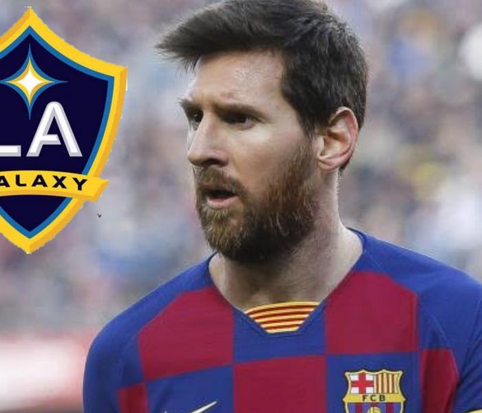 """Messi podría ir a Los Ángeles Galaxy junto a """"Chícharito"""""""