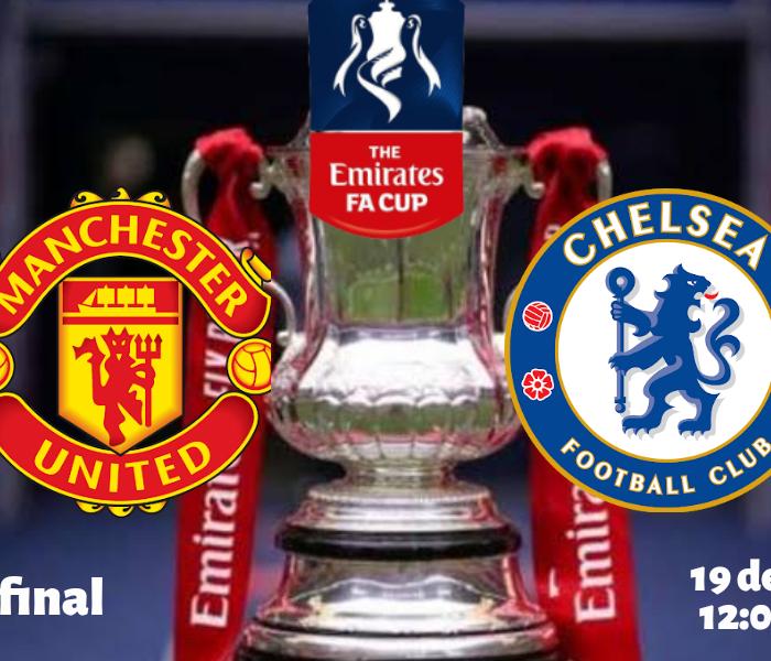 FA Cup: Minuto a  Minuto Manchester United Contra Chelsea