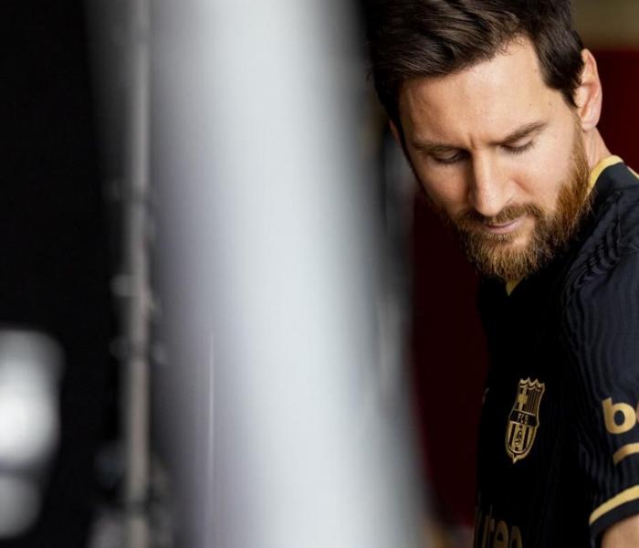 Espectacular el segundo uniforme del Barcelona