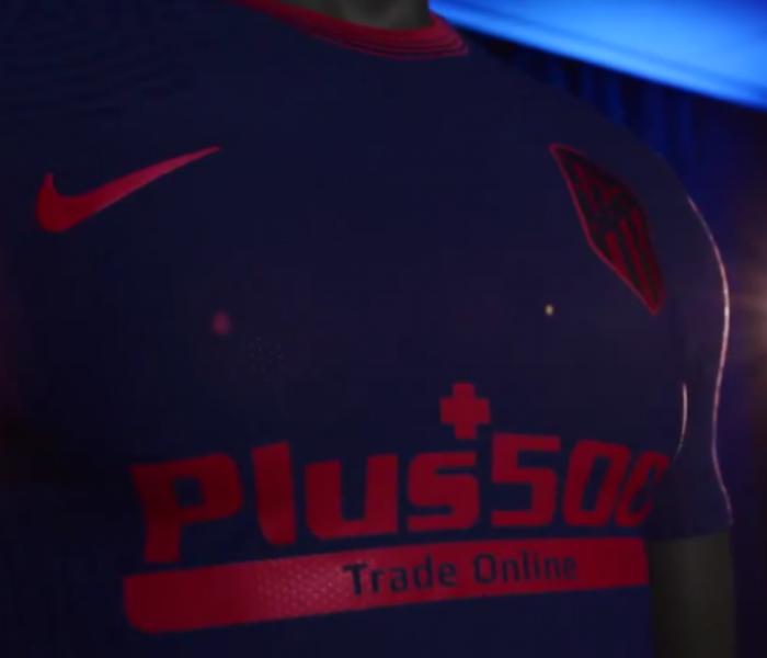 El Atlético de Madrid presenta su segundo uniforme