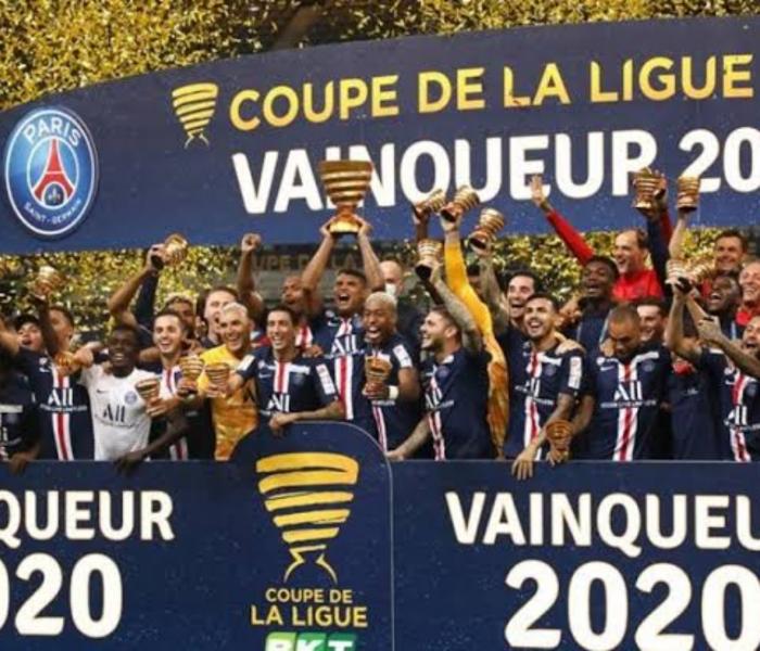 PSG Campeón de Copa de la Liga Francesa