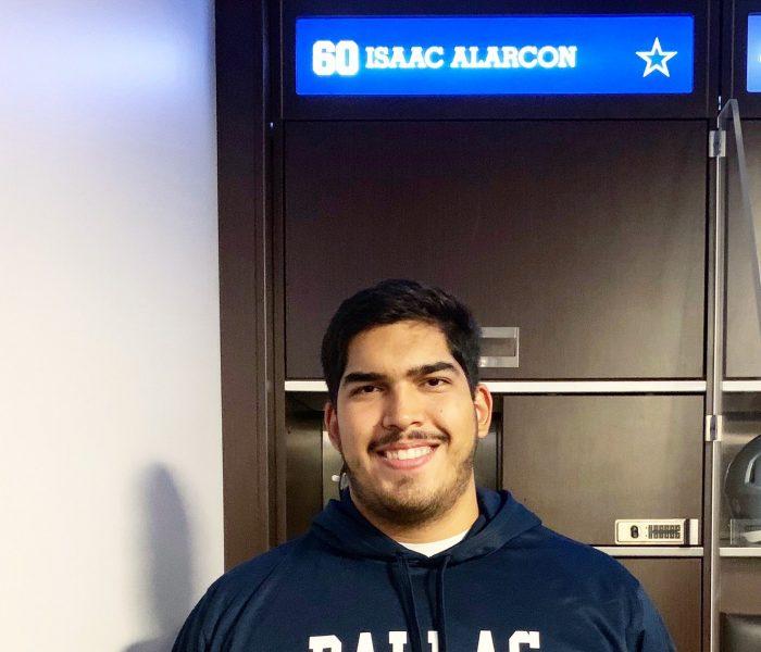 NFL a la Mexicana… Dallas ya firmó a Isaac Alarcón
