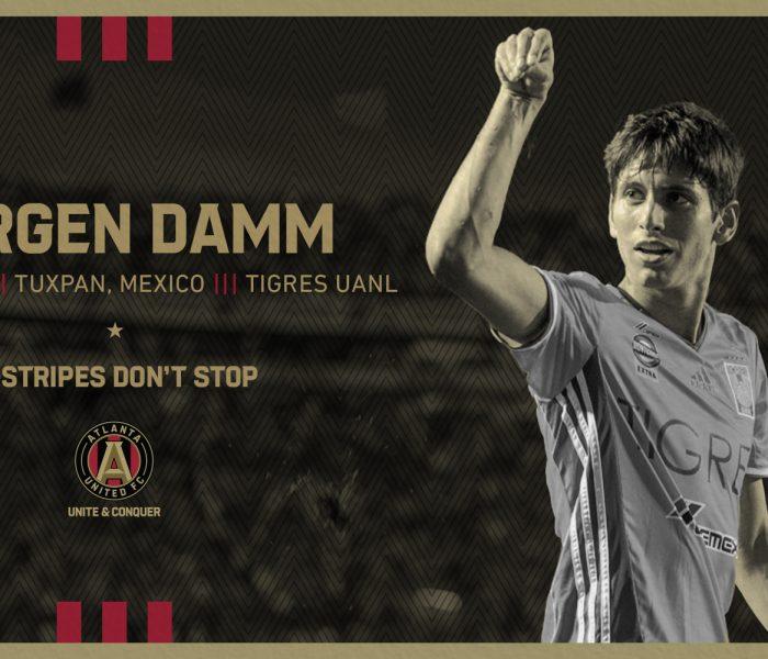 Damm es Oficialmente jugador de la MLS