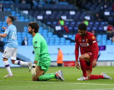 Le abollaron la corona… El City golea al Liverpool