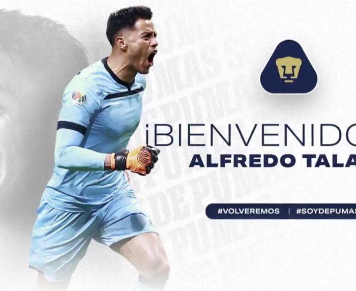 Oficial… Alfredo Talavera es nuevo arquero de Pumas