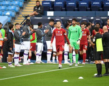 Honor a quien honor merece… El City le hace pasillo al Liverpool