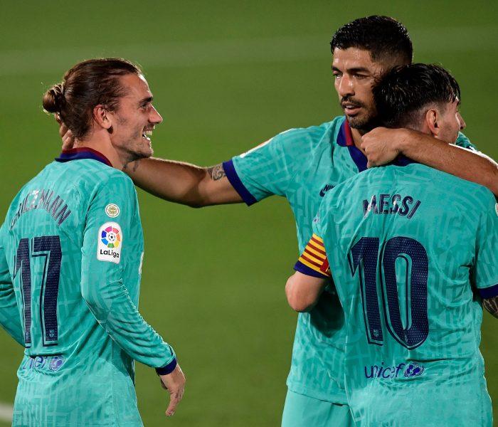 Futbol: Barça vuelve a ganar… Suárez rompe récords