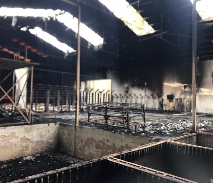 Gimnasio donde entrena Paola Espinoza se incendió