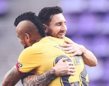 Fenómeno… Messi el mejor asistidor del mundo