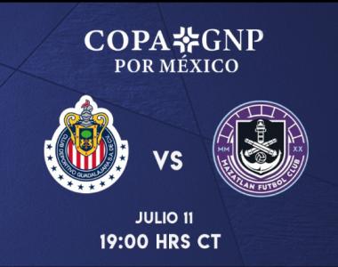 Copa GNP: Minuto a Minuto Chivas contra Mazatlán