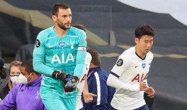 Se están peleando… Lloris y Son tienen bronca en el Tottenham Stadium