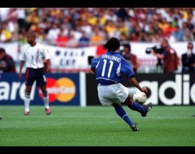Golazos que no se olvidan… Así recrean el gol de Dinho en Corea-Japón 2002