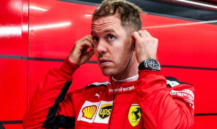 Vettel salio de Ferrari por culpa del coronavirus Covid-19