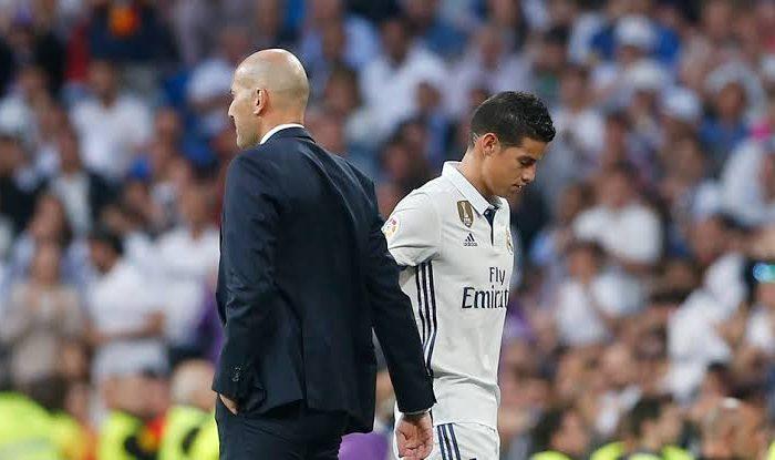 ¿Serán los últimos días de James en el Real Madrid?