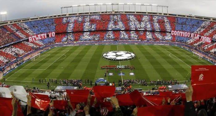 Demuelen el antiguo estadio del Atlético de Madrid