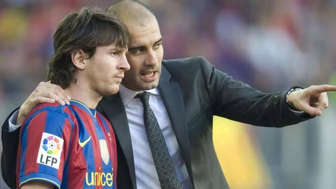 Pep Guardiola quiere que Messi siga con el Barcelona