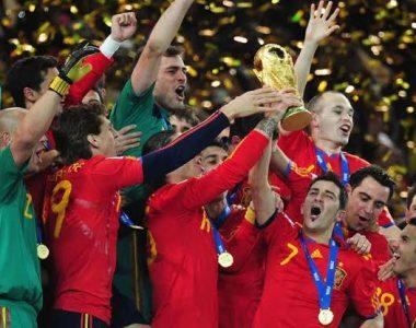 Hace 8 años España tocó la gloria