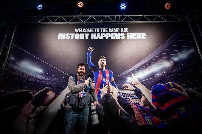 Mexicano que le tomó esta foto a Messi es despedido