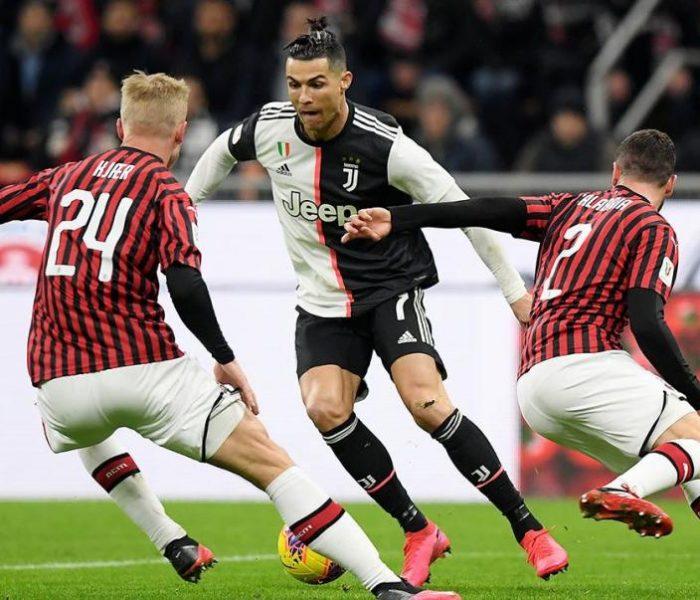 Milan hiere a la Juventus en la serie A