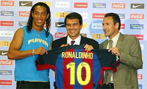 17 Años de la llegada del mejor jugador del Barcelona