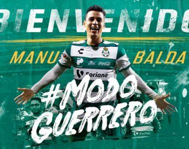 Santos Hace oficial a Manu Balda