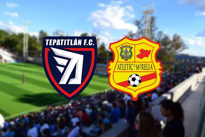 Liga de Expansión Mx Minuto a Minuto Tepatitlán vs Atlético Morelia