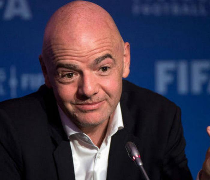 """FIFA: """"Aquí no ha pasado nada"""" dice el presidente Gianni Infantino"""