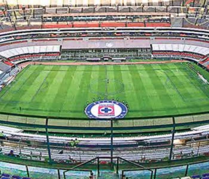 Cruz Azul vuelve al estadio Azteca después de varias semanas
