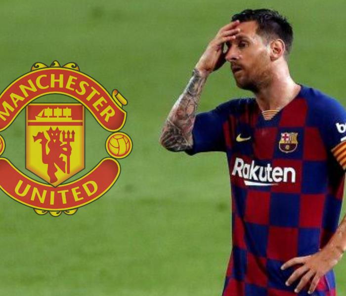 Leo Messi podría irse al Manchester United