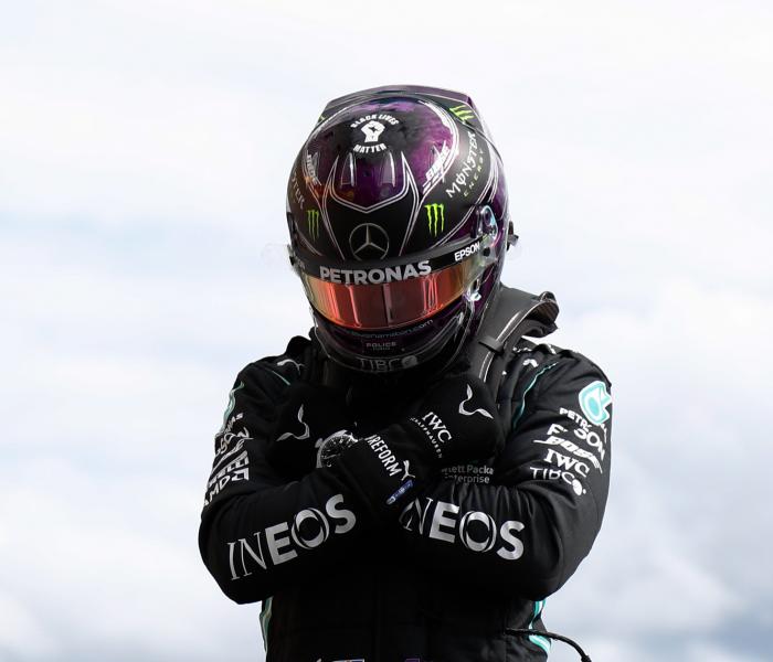 F1: Hamilton triste por el fallecimiento de 'Black Panther'
