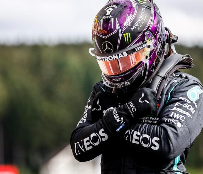 F1: Hamilton logra su pole número 93 y Checo Pérez cae 4 posiciones
