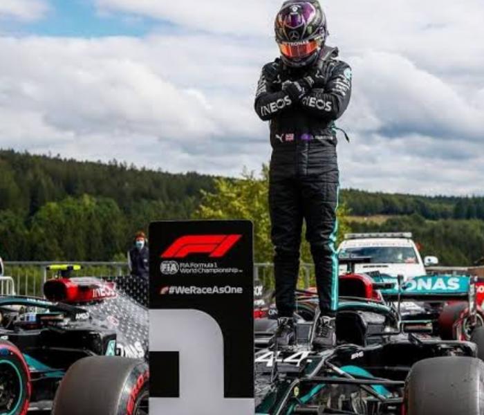 F1: ¡Esto ya no es raro! Hamilton se vuelve a llevar el primer lugar, ahora en Bélgica
