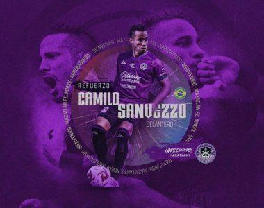 Camilo Sanvezzo nuevo jugador de Mazatlán