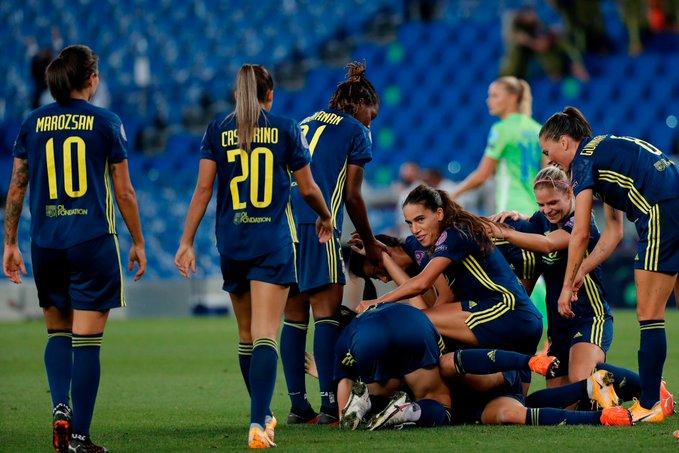 Olympique de Lyon femenil es campeón de la UEFA Champions League