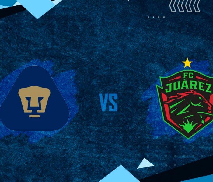 GUARD1ANES Mx: Pumas vs Juárez FC, minuto a minuto