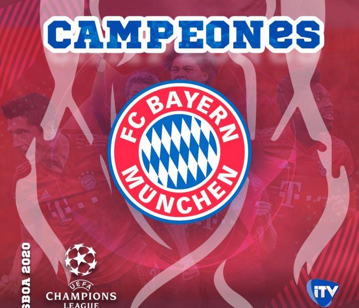Bayern Munich campeón de la Uefa Champions League