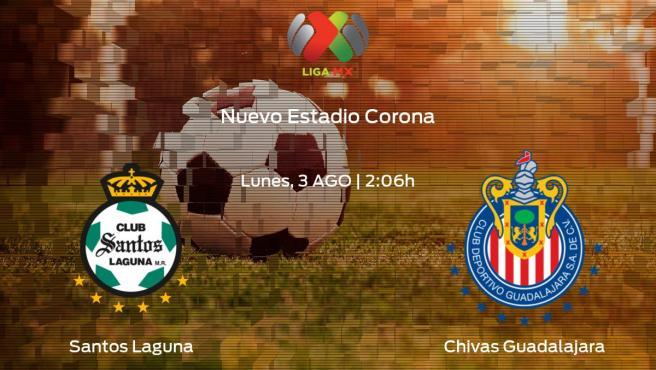Guard1anes 2020 Minuto a Minuto Santos contra Chivas