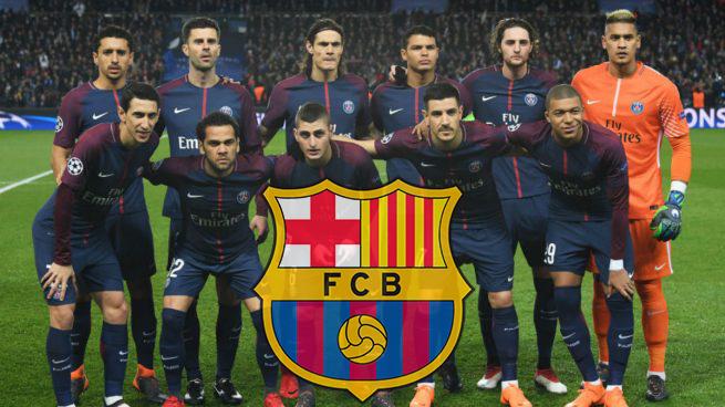 Un jugadorazo del PSG se ofreció al Barcelona y así respondió el equipo culé