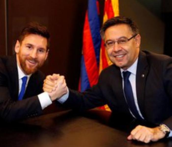 ¿Será qué no se va del Barcelona? Padre de Messi viaja España
