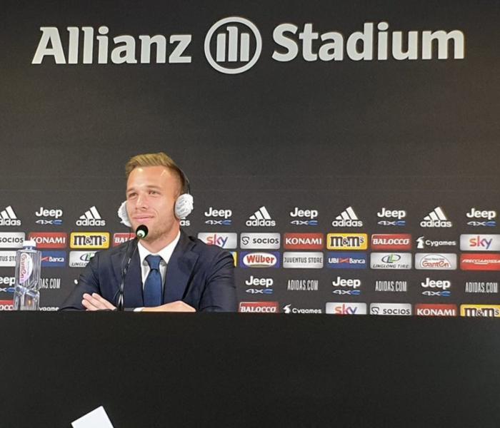 Juventus: Artur Melo cumple su sueño, por fin jugará alado de Cristiano Ronaldo