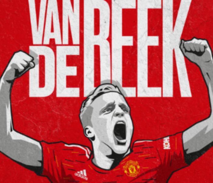 Se lo ganaron al Madrid…Donny van de Beek ya es jugador del ManU