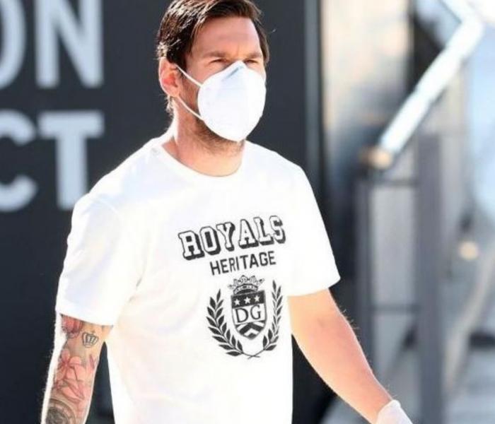 A empezar de nuevo…Messi se presenta a los exámenes médicos