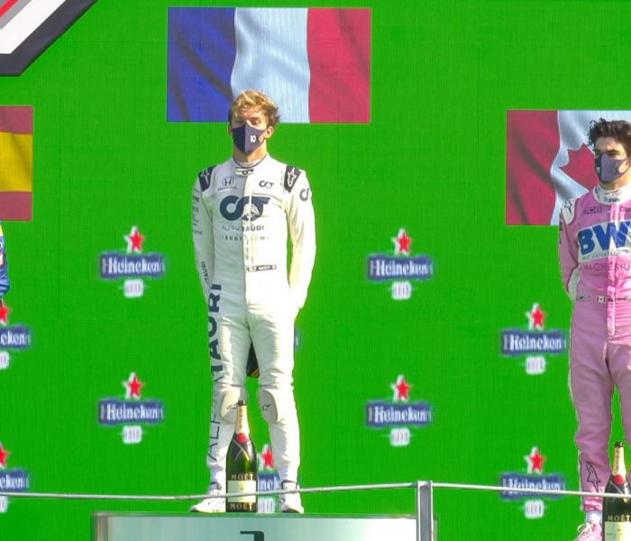 ¡Histórico!, Pierre Gasly se lleva el GP de Italia
