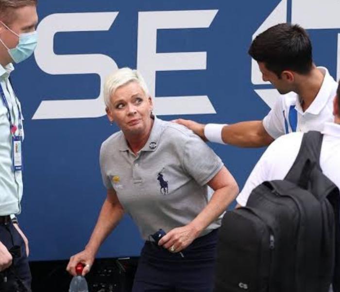 Jueza golpeada por Novak Djokovic es amenazada de muerte
