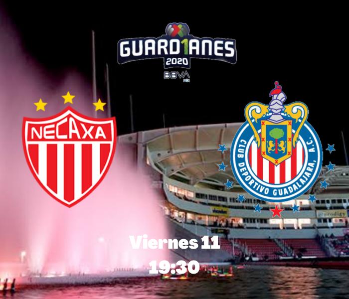 Guard1anes 2020: Necaxa vs Chivas, minuto a minuto