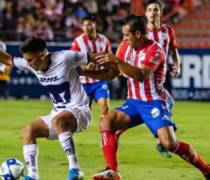 Antecedentes: Atlético San Luis nunca le ha podido ganar a Pumas