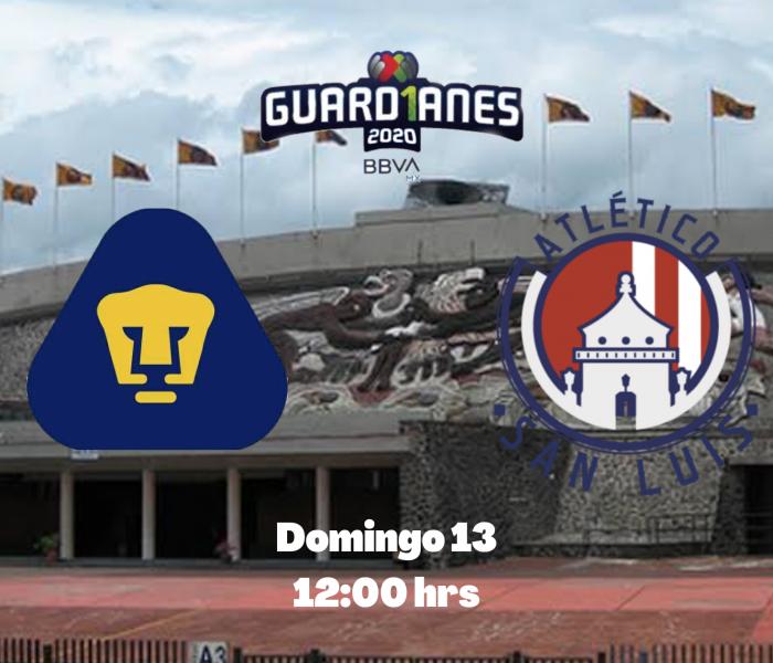 Guard1anes 2020: Pumas vs Atlético San Luis, minuto a minuto