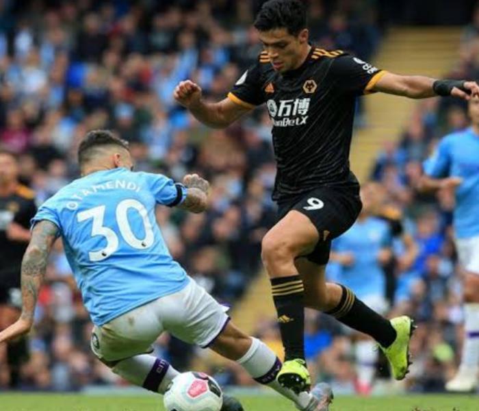 Raúl Jiménez es el verdugo del Manchester City
